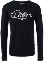 Telfar front print sweatshirt