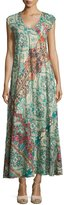 Johnny Was Bellini Graphic-Print Maxi Dress, Multi