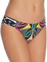 Trina Turk Africana Shirred Hipster Bikini Bottom