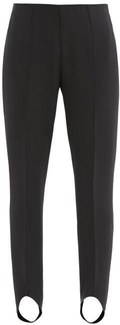 Bogner Elaine Stretch-jersey Slim-leg Stirrup Trousers - Black