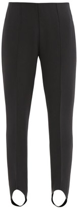 Bogner Elaine Stretch-jersey Slim-leg Stirrup Trousers - Black