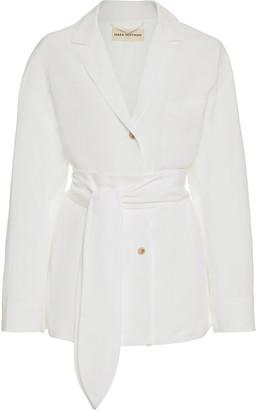 Mara Hoffman Eleanor Tie-Detailed Cotton Top