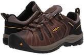 Keen Flint II (Soft Toe) (Cascade Brown/Golden Rod) Men's Work Boots