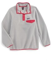 Patagonia Girl's Synchilla Snap-T Fleece Pullover
