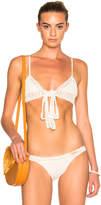 She Made Me Wrap Triangle Bikini Top