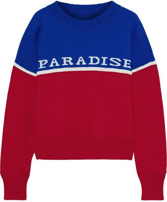 Etoile Isabel Marant Kepson Jacquard-knit Sweater