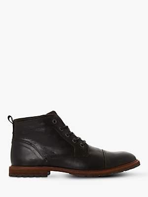 Dune Crawshaw Leather Chukka Boots