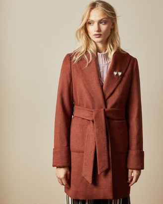 Ted Baker Short Wrap Coat