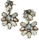 BaubleBar Women's Eirini Crystal Drop Earrings