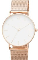 Topshop Women's Look Mesh Bracelet Watch, 40Mm