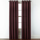 STUDIO BY JCP HOME StudioTM Warner Chenille Grommet-Top Curtain Panel