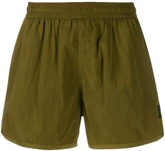 Ami Elastic Waist Swim Shorts