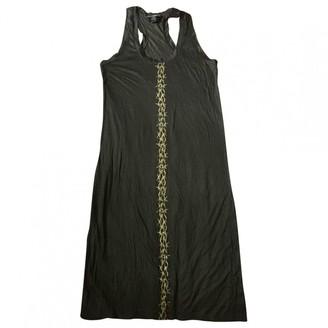Thomas Wylde Black Cotton Dress for Women