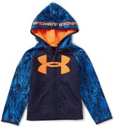 Under Armour Little Boys 4-7 Digital Wave Big Logo Hoodie Jacket