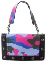 Moschino Camouflage Studded Satchel w/ Tags