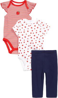 Little Me Strawberry Bodysuits & Leggings Set