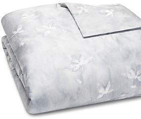 Vera Wang Ghost Floral Percale Duvet Cover, Queen - 100% Exclusive