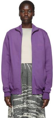 Serapis Purple Corp Zip-Up Sweatshirt