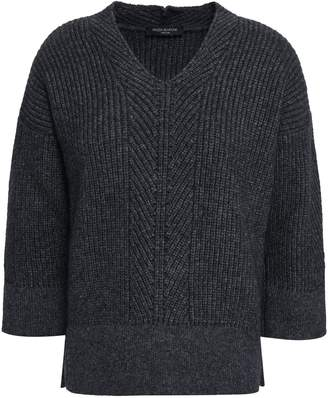 Piazza Sempione Ribbed Wool-blend Sweater