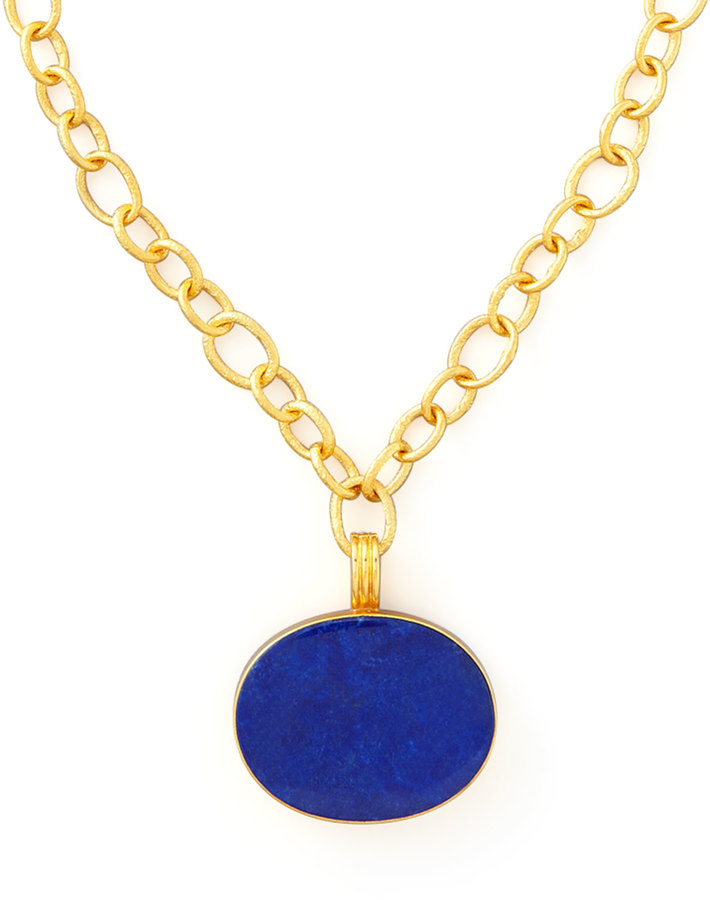 Lapis Dina Mackney Pendant Necklace
