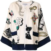 Chanel Pre Owned 1994 CC icon cardigan
