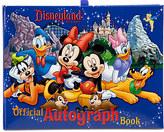 Disney Official Disneyland Resort Autograph Book