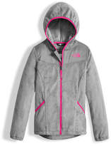 The North Face Oso Fleece Zip Hoodie, Silver, Girls' Size XXS-XL