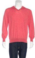 Brunello Cucinelli Wool V-Neck Sweater