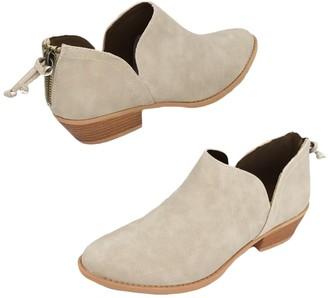 Goodnight Macaroon 'Jollie' Oxford Heel Cut Out Boots