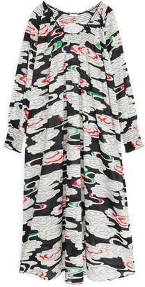 Arket Cotton Voile Maxi Dress