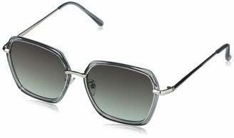 Southpole Women's 1050SP Non Polarized Rectangular Sunglasses