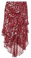 Veronica Beard Blake fil coupé skirt