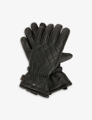 Goldbergh Nishi leather ski gloves