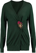 Dolce & Gabbana Embellished cashmere and silk-blend cardigan