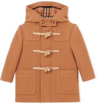 BURBERRY KIDS Double-Faced Duffle Coat
