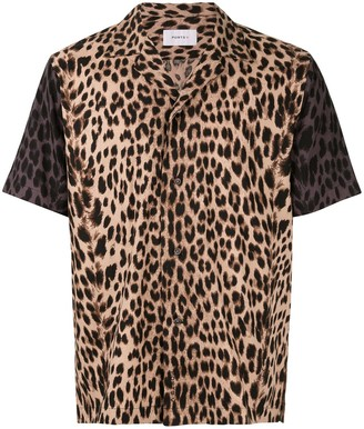 Ports V Leopard-Print Boxy Shirt