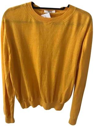 Celine Yellow Wool Knitwear
