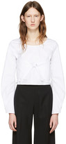 J.W.Anderson White Cotton Panel Blouse