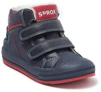 SPROX Lucas Faux Fur Lined High-Top Sneaker (Toddler)