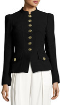 Andrew Gn Military-Style Wool Jacket