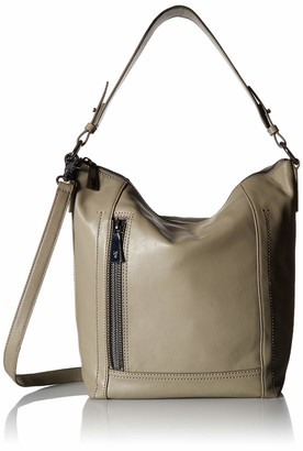 Frye Lena Zip Leather Hobo Shoulder Bag