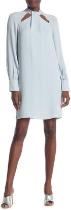Reiss Anai Cutout Shift Dress