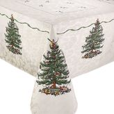 "Spode Tree Square Christmas Tree Tablecloth - 52"" x 52"""