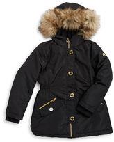 Michael Kors Girls 7-16 Faux Fur-Trimmed Parka