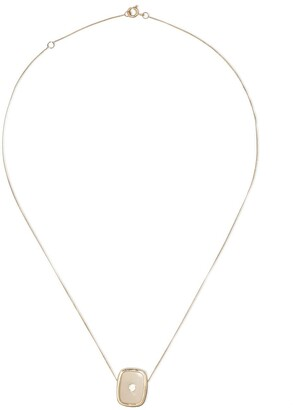 Pascale Monvoisin 14kt and 9kt yellow gold diamond Varda N1 necklace