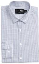 Topman Men's Slim Fit Grid Check Dress Shirt