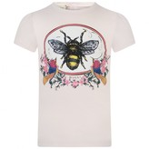 Gucci GUCCIBaby Girls Pink Bee Top