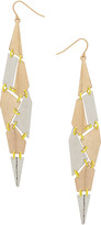 Topshop Patchwork Drop Earrings