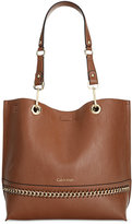 Calvin Klein Sonoma Chain Reversible Tote With Pouch