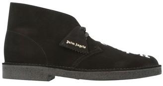 Palm Angels x Clarks - Logo desert boots